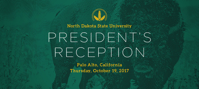 Oct 19, 2017 President's Reception in Palo Alto Web Banner