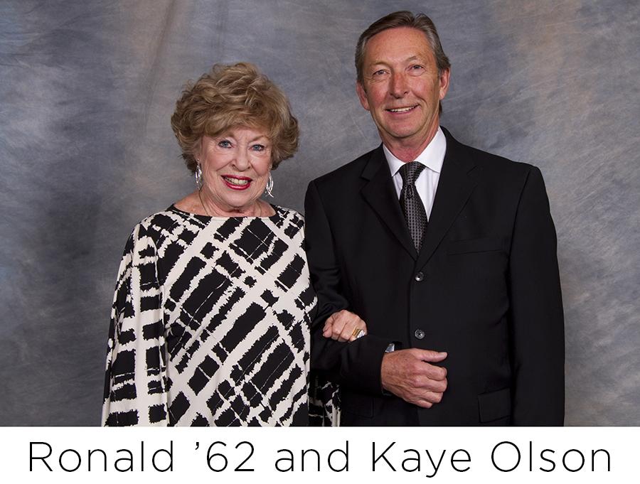 Ron and Kaye Olson