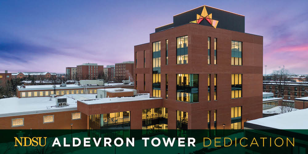 Aldevron Tower Dedication