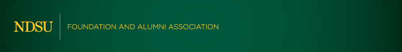 NDSU Foundation and Alumni Association Header