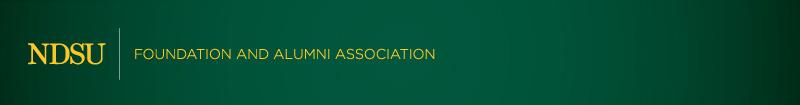 NDSU Foundation and Alumni Association Header