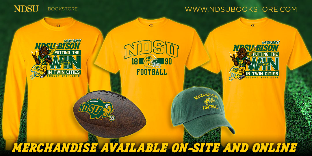 NDSU Bookstore image of Bison T-shirts