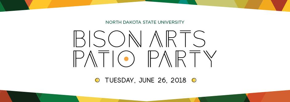 2018 BisonArts Fargo Patio Party 941x331pixels