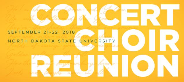 2018 Concert Choir Reunion Sept 21-22