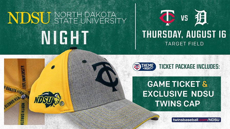 2018 NDSU Night at Target Field Rotating Banner