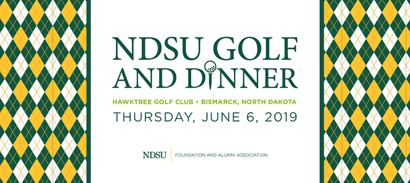 NDSU Golf and Dinner at Hawktree Golf Club in Bismarck, ND on Thursday, June 7, 2019