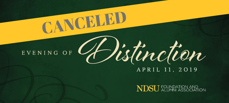 2019 - Evening of Distinction event Canceled due to weather