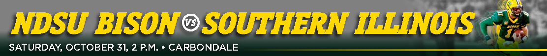 NDSU Bison at Southern Illinois Email Banner
