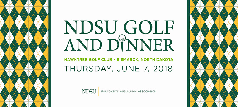 2018 Bismarck Golf and Dinner - June 7, 2018 - Bismarck, ND Web Banner
