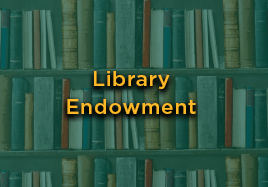 Library Endowment button