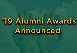 2019 Alumni Awards Announced