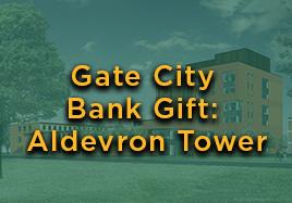 Gate City Bank Gift: Aldevron Tower