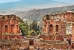 Ancient Adventures - Aerial view of Taormina