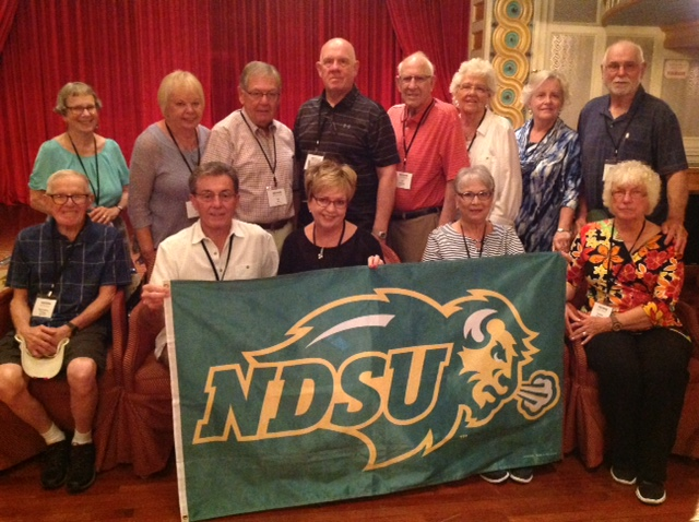 NDSU alumni and friends, on the Southern Grandeur Mississippi river cruise 2017 Travel