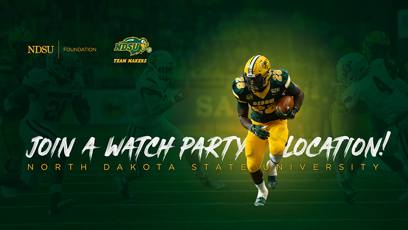 Banner: Join a Watch Party Location | NDSU